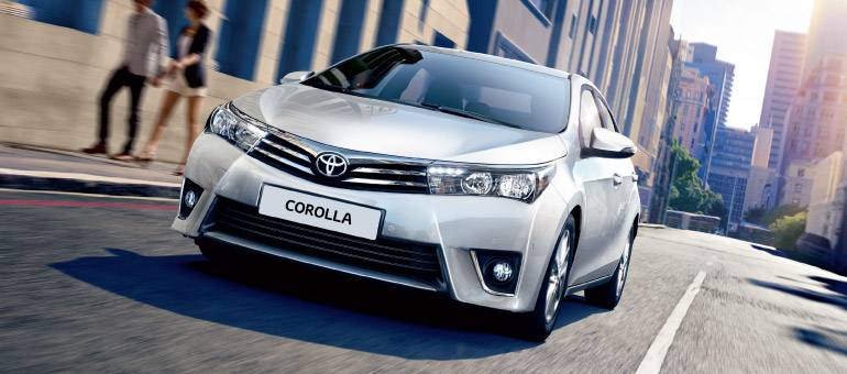 Proba 1. Toyota Corolla. Frumoasa cu un scop precis
