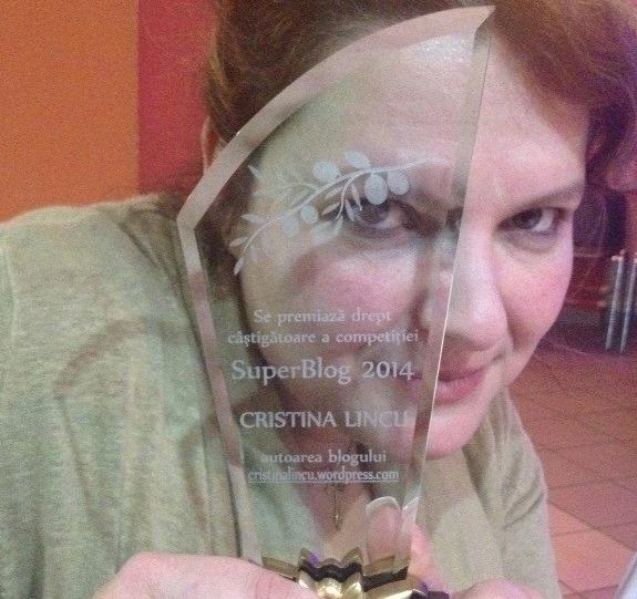 Interviu cu marea câștigătoare din SuperBlog 2014: Cristina Lincu