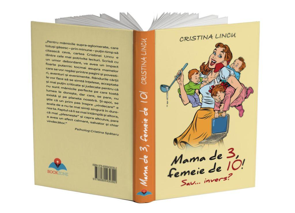 """Interviu cu Cristina Lincu – """"Mamă de 3, femeie de 10! Sau… invers?"""""""