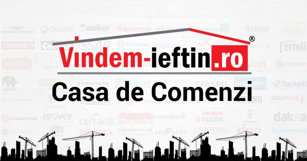 Proba 5. Casa de Comenzi Vindem-Ieftin.ro – un concept unic pe piața materialelor de construcții