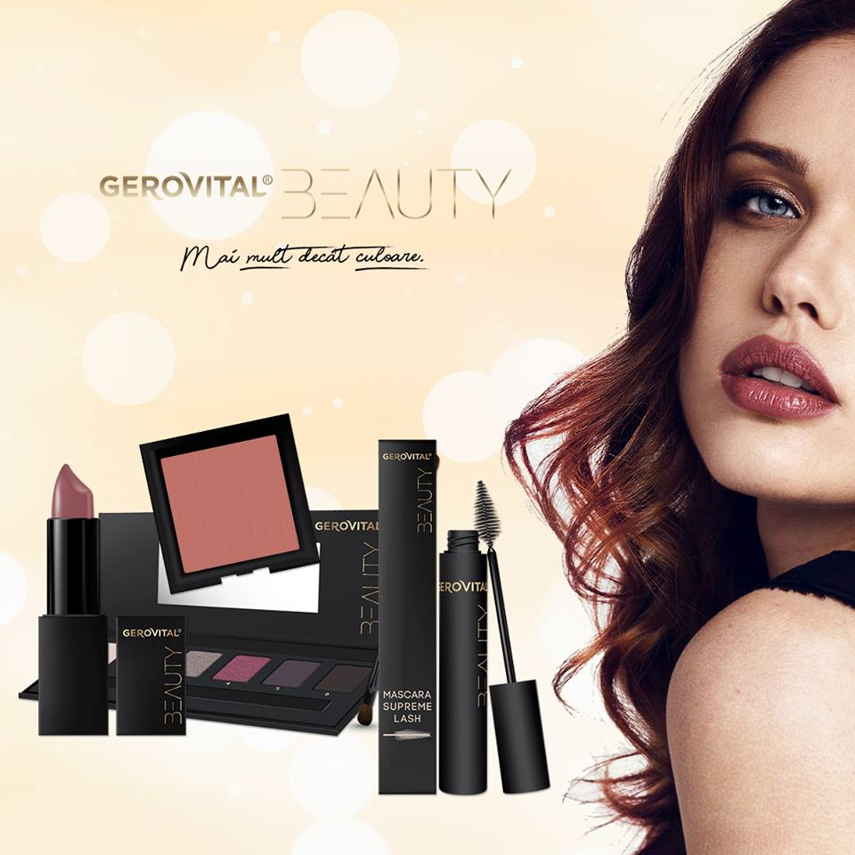 Proba 10 Gerovital Beauty Mai Mult Decât Culoare