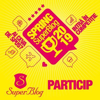 Particip la Spring SuperBlog 2019