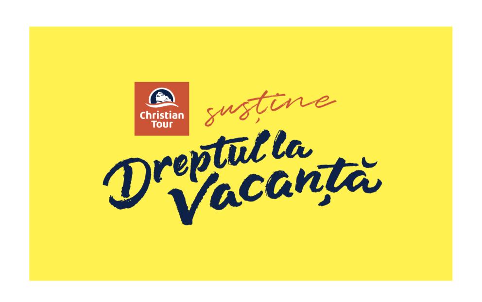 Proba 1. CHRISTIAN TOUR susține DREPTUL LA VACANȚĂ
