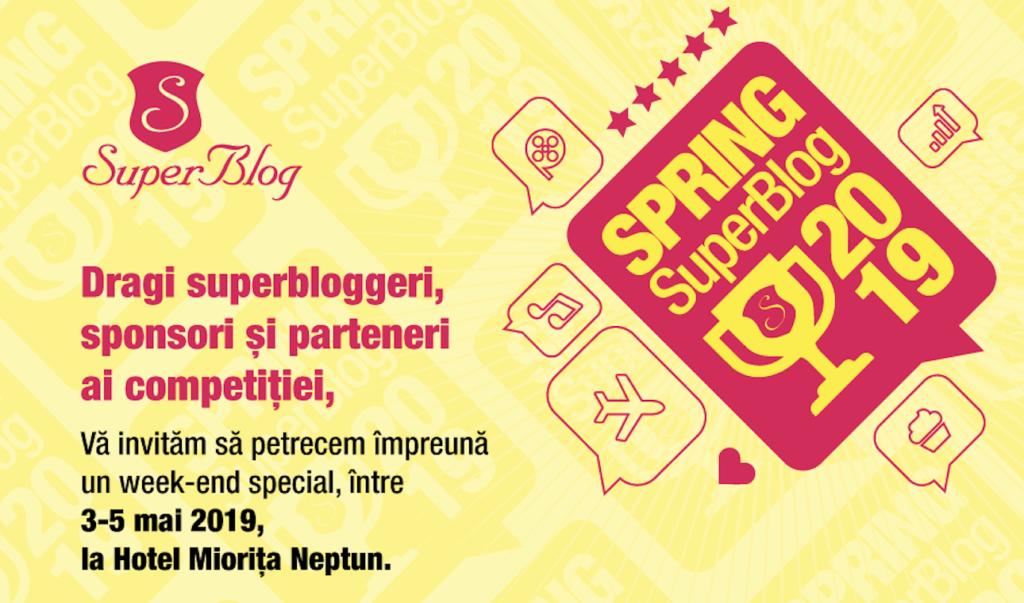 INVITAȚIE la Gala Spring SuperBlog 2019
