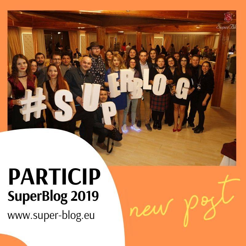 Particip la SuperBlog 2019