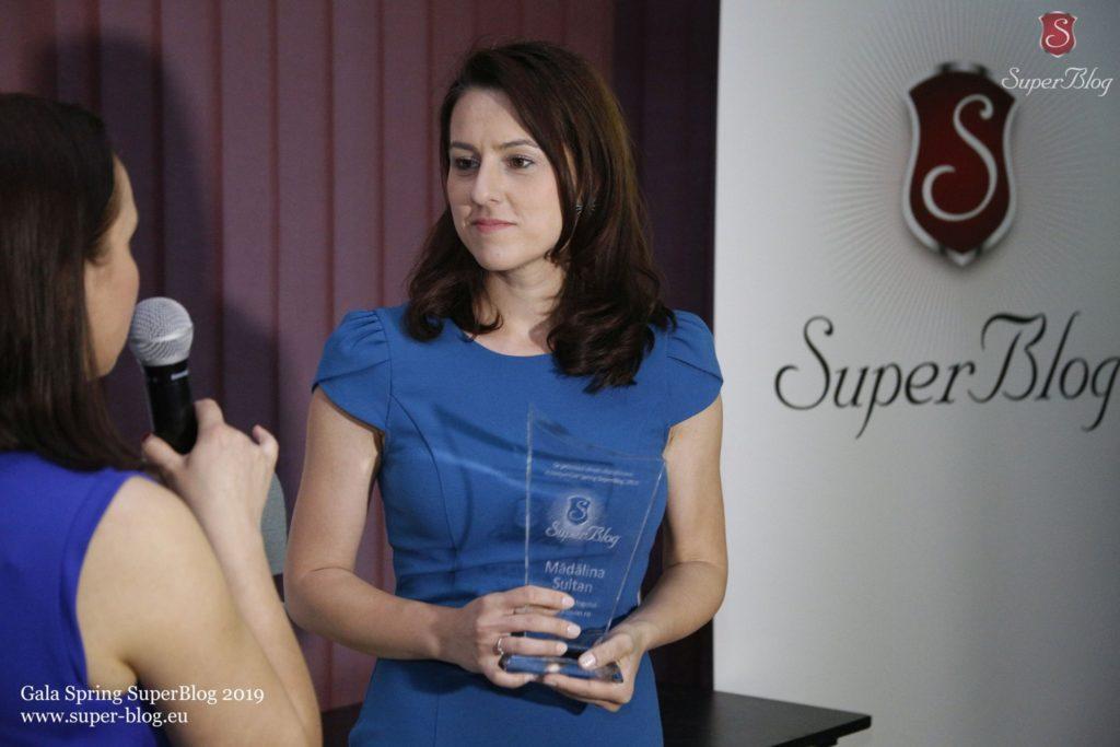 Interviu cu Mădălina Sultan, câștigătoarea trofeului Spring SuperBlog 2019