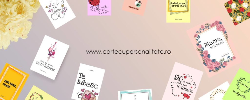 Comanda Carte cu personalitate