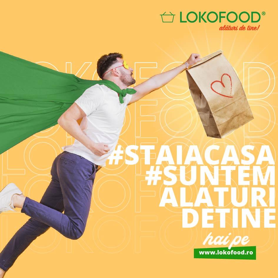 Proba 17. #StaiAcasă și comandă mâncarea preferată pe LOKOFOOD!